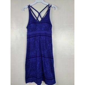 Dakini Women Dress Blue Built In Shelf Bra Size XS